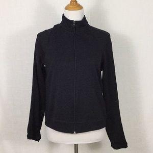Super-flattering Danskin zip front jacket